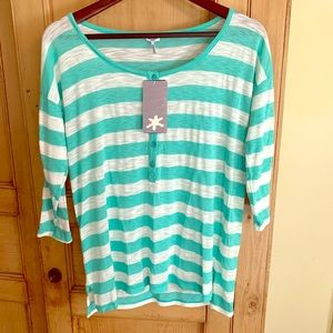 Splendid Nordstrom striped top size medium